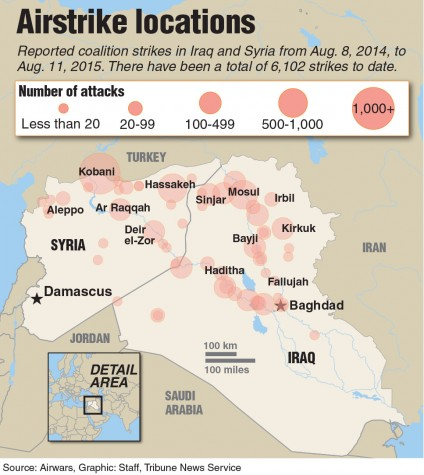 Turkish warplanes hit Islamic State in Syria as part of U.S. coalition