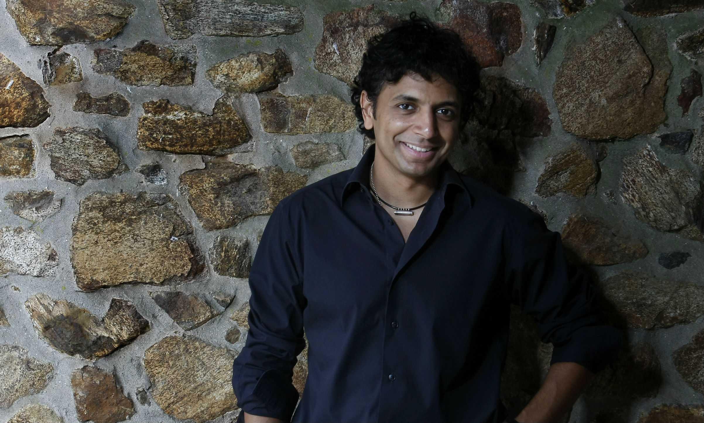 Director M. Night Shyamalan.