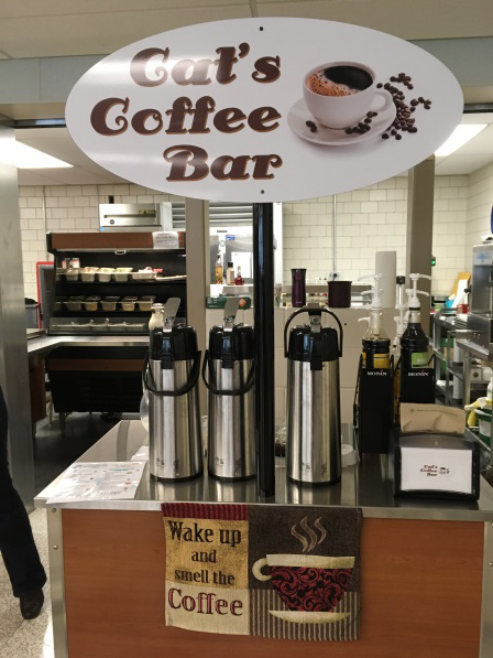 Cat's Coffee Bar opens doors to students