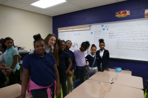 Interact Club gives back to East Cleveland elementary school