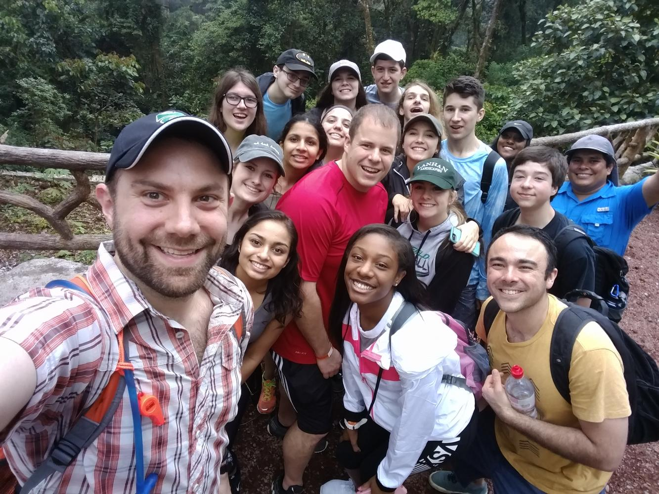 The spring break trip to Costa Rica was chaperoned by Mr. Phil Deaton and Mr. Corey Rice.