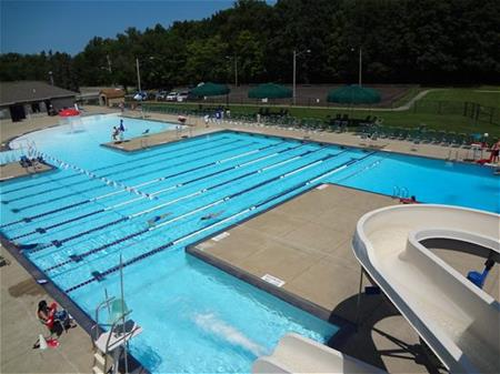 The pool is open from 12:30pm-8:00pm and is located at the Highland Heights Community Park at 5905 Wilson Mills Road.