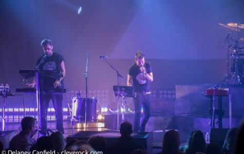 Bastille plays at EJ Thomas Hall in Akron, Ohio on Oct. 22, 2014. Photo © Delaney Canfield / CleveRock