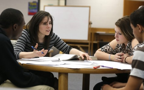Students prepare for their English exams. (Ethan Hyman/Raleigh News & Observer/MCT)