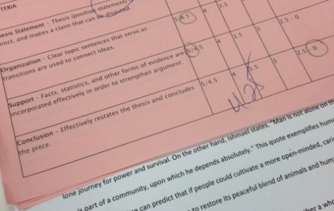 Students give insight to 4 point grades in English class