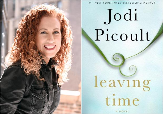 Photo of author and book cover both taken from Jodi Picoult official website.