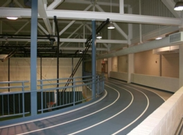 The indoor track is one of many features of Wildcat Sport and Fitness. Photo by: Official Mayfield Village Website