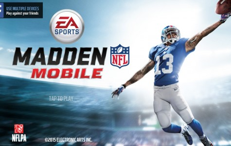 Screenshot of the official Madden Mobile menu.