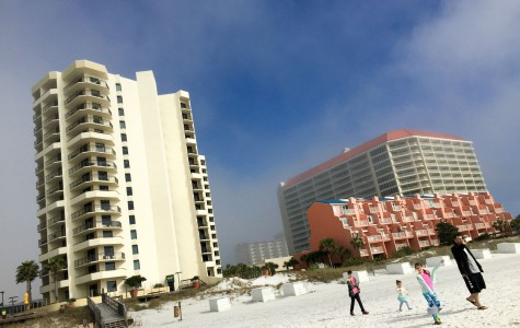 Many students will be traveling, some to resorts like this upscale Hilton Sandestin resort in Sandestin on the Florida panhandle.