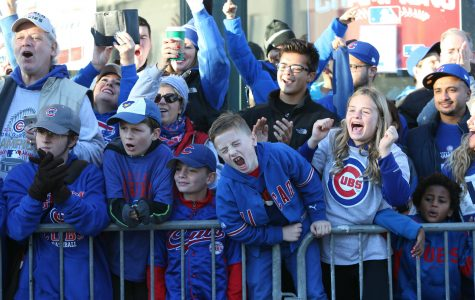 For young Cubs fans, a day off of school was needed to celebrate their World Series victory.