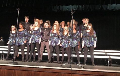 Show choir prepares for festival of talent