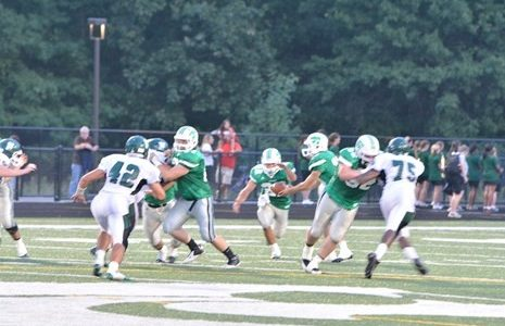Varsity football overcomes adversity, pressure