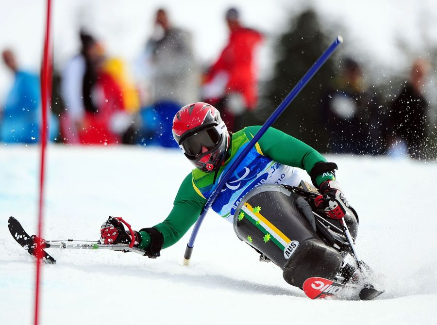 Australian+Shannon+Dallas+competes+in+the+slalom+event+at+the+Vancouver+Paralympics+in+2010.