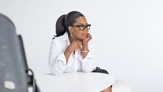 Oprah Winfrey said she's turned to prayer over a possible presidential run.  She told People Magazine, ″'God, if you think I'm supposed to run, you gotta tell me, and it has to be so clear that not even I can miss it.' And I haven't gotten [God's response].""