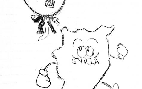 Illustration: Trump takes on Syria