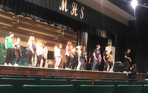 Students prepare for 'The Little Mermaid'