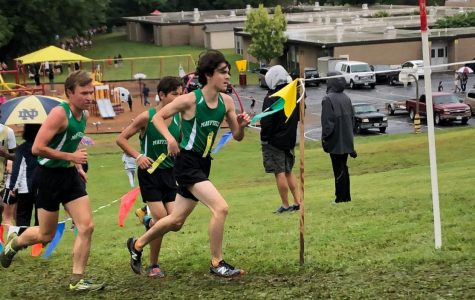 Boys cross country team trying to improve