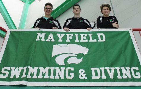 Men's swim team demonstrates true connection