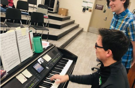 Students audition for this year's musical
