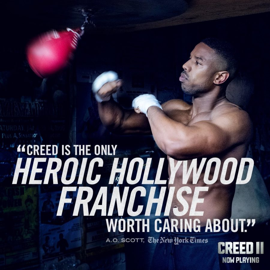 Creed II impresses, relates back to Rocky IV storyline