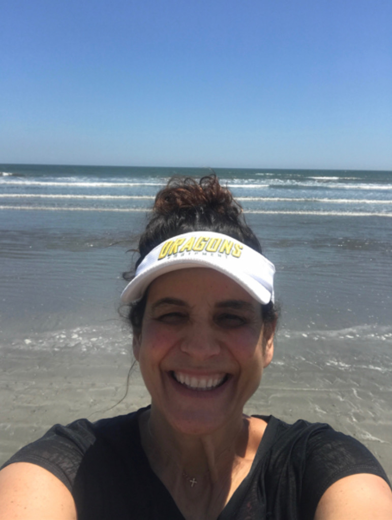 Kerry Rutigliano enjoying her time at the beach in Kiawah,  South Carolina in the summer of 2018.  Photo by