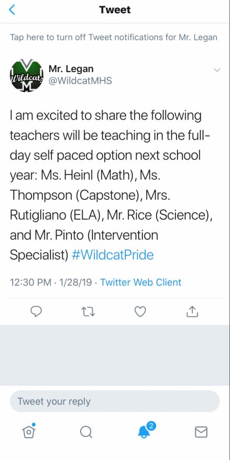 Legan announces Self-Paced 2.0 teachers