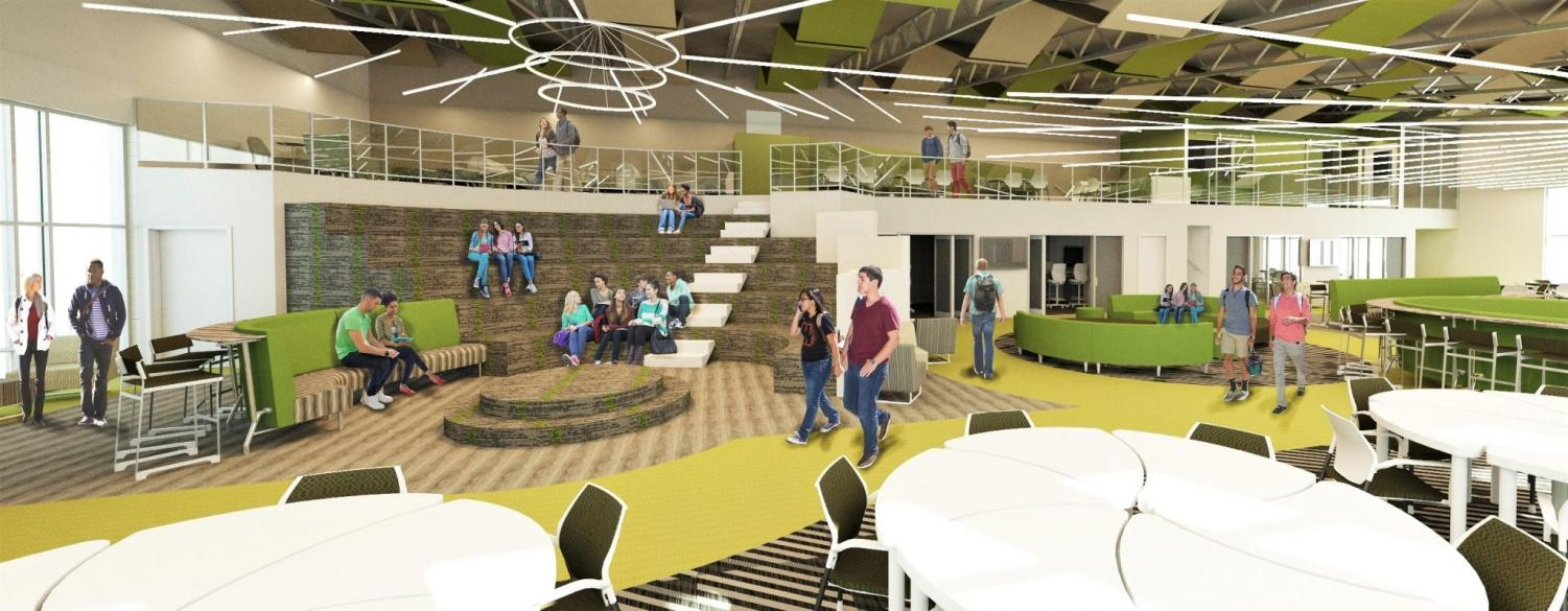 The former Construction Trades space in the Excel TECC wing of the building is the future home of Self-Paced 2.0.  It will be ready for the 2020-2021 school year.