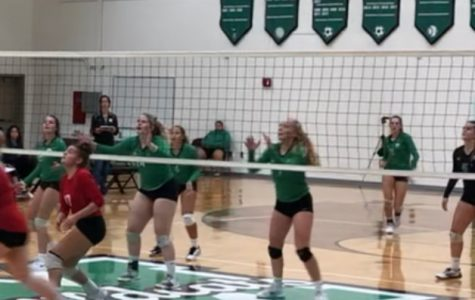 Varsity volleyball team players receive collegiate help in off-season