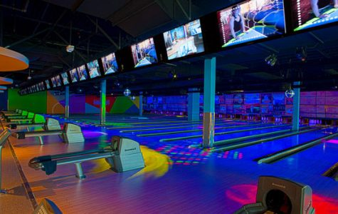 Consider cosmic bowling at Round 1 at the Great Lakes Mall.  It's offered after 8pm on weekdays and after 6pm on weekends.