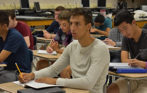 AP testing season calls forth stress
