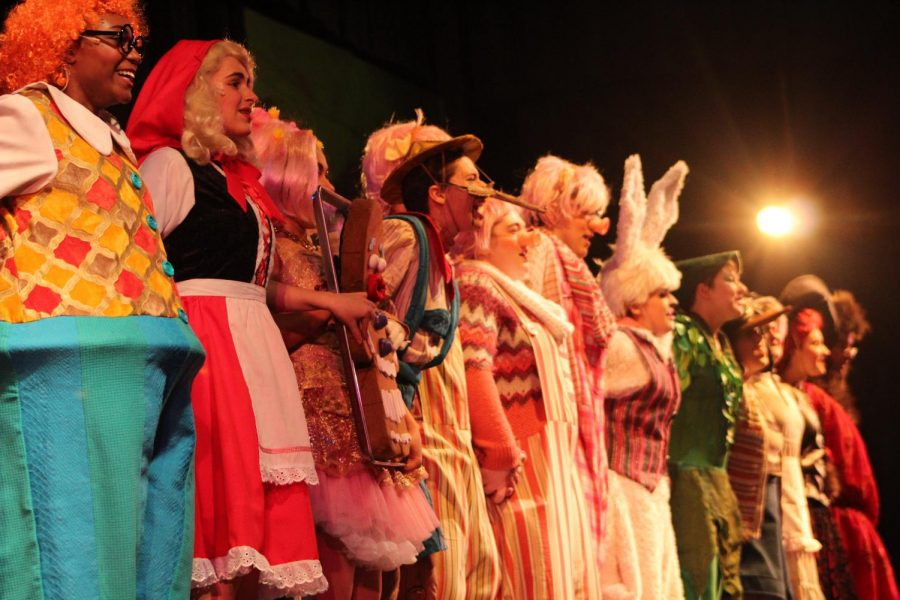 The+cast+and+crew+of+%22Shrek%3A+The+Musical%22+finally+have+time+to+rest+after+preparing+for+months+and+performing+the+last+two+weekends.++
