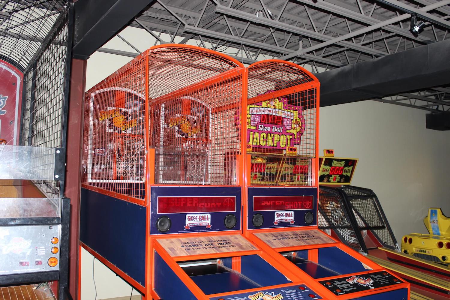Play Arcade + Kitchen has 85 different arcade games.