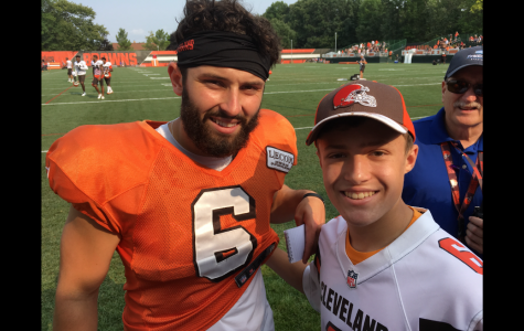 Junior continues Baker Mayfield obsession