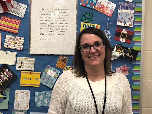 English teacher Lacy Long-Goldberg looks ahead to next school year.