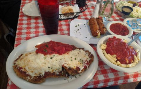 """BAKED WITH LOVE: Mama's Roberto's """"Chicken Parmigiano"""" is sure to turn heads with its delicious cuts of chicken, sweet sauce, and melty mozzarella cheese."""