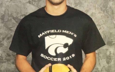 Senior returns to play soccer