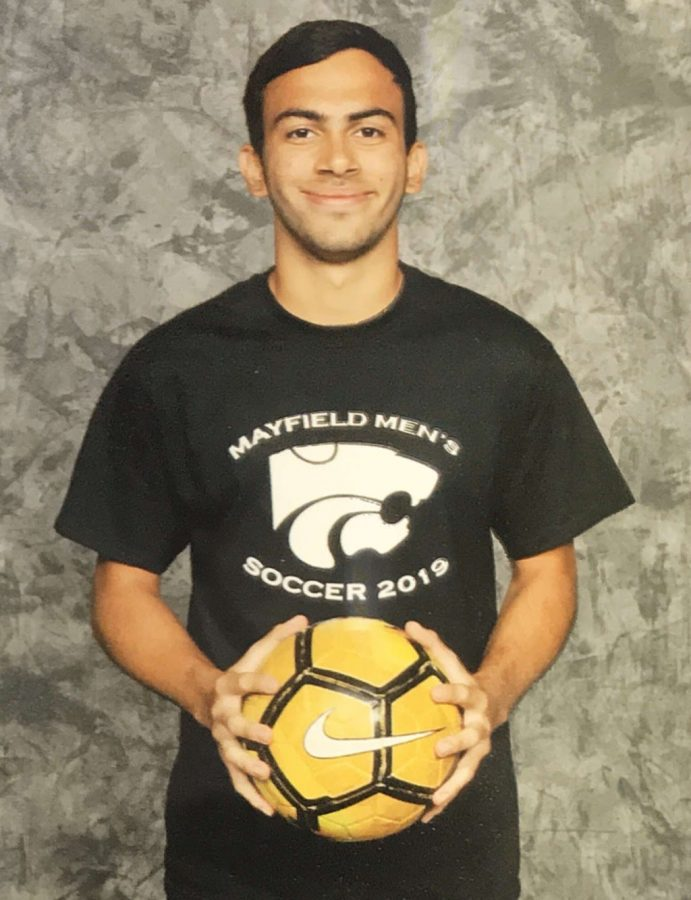 Senior returns to play soccer