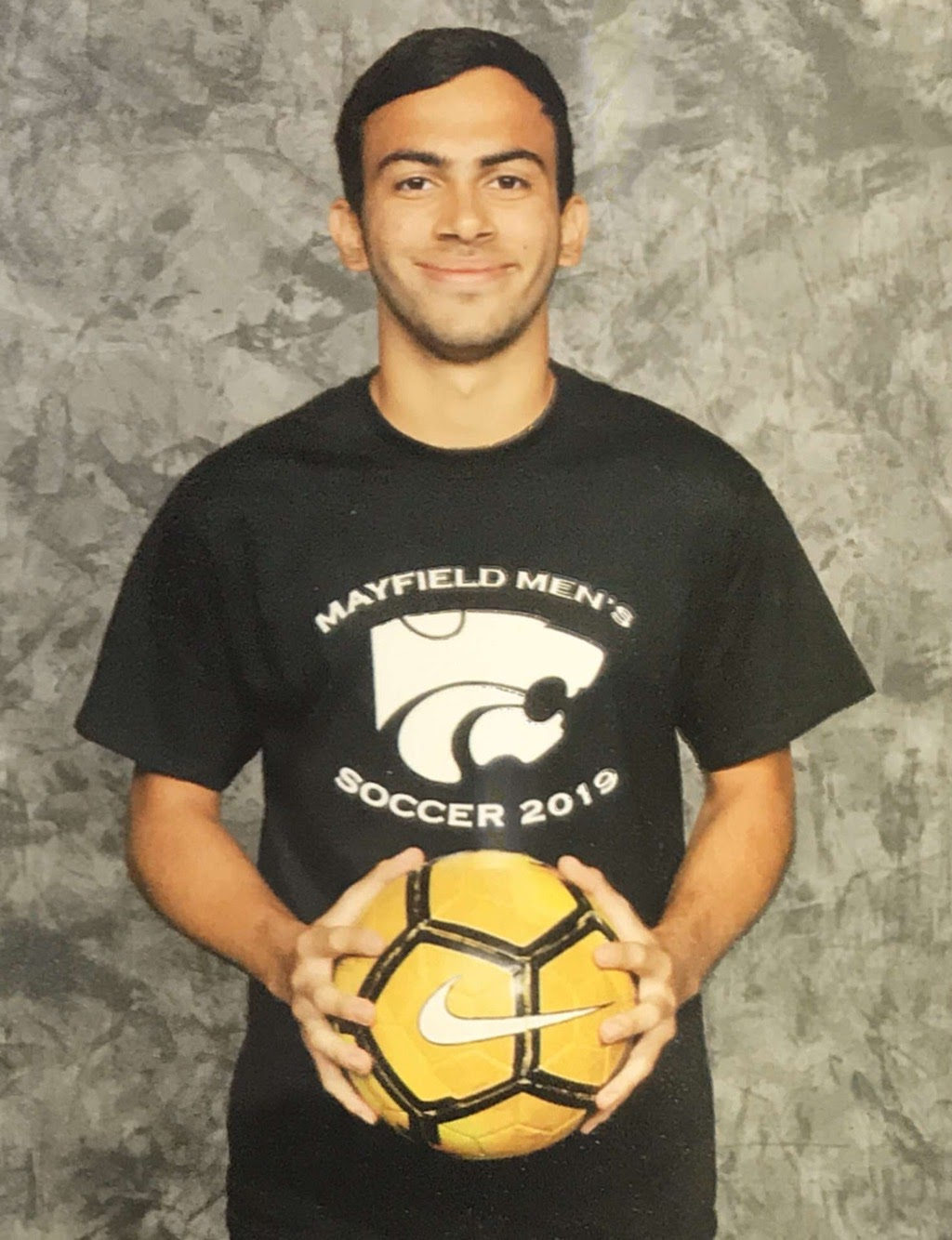 Indy Dhillon said he feels proud of his accomplishments to play soccer for the Mayfield men's team.