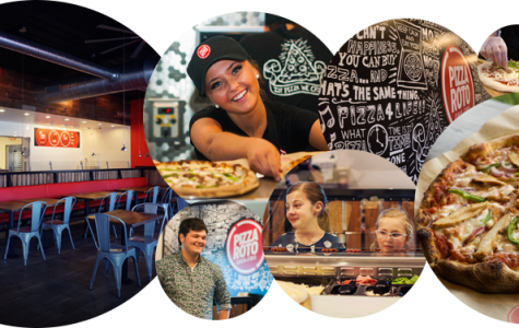 The newest Pizza Roto location is on the corner of Wilson Mills Road and Miner Road.  It opens daily at 11am.