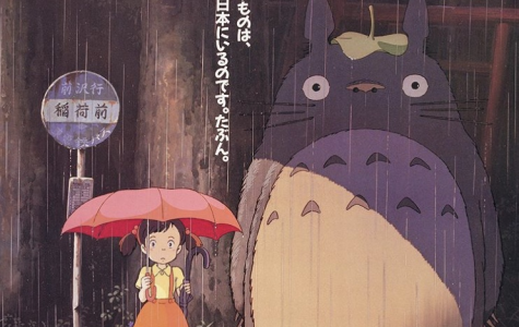 A picture of the original poster for Studio Ghibli´s film, My Neighbour Totoro. This film will be one of the many coming to the U.S.A., Japan and Canada through Netflix.