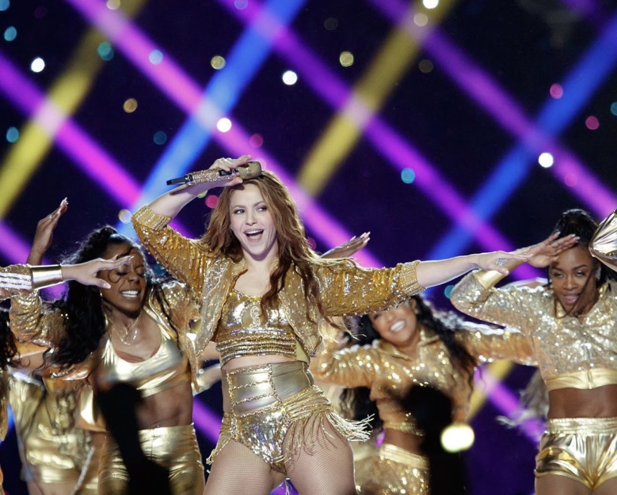 """Shakira and her many backup dancers wear revealing outfits and dance inappropriately in front of a reported 102 million television viewers. Savanna Bresler said she was very disappointed in the halftime performance this year because """"society has been teaching us to act one way when the next minute performers are doing the complete opposite of what society told us to do."""