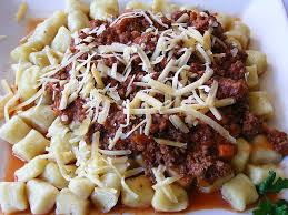 Yum! Gnocchi is a potato-based pasta, which is one of the many meals the AP Italian students will be making by rolling by hand on their field trip next week.