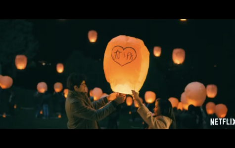 Lara Jean and Peter Kavinsky participate in a local lantern festival.