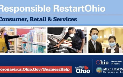 Beginning in May, businesses will slowly begin to open again.   Consumer, retail, and services are set to open on May 12, except for restaurants and salons.   DeWine said on Twitter,