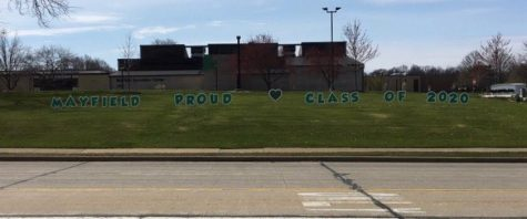 With traditional senior events being cancelled this year, the community has placed yard signs as a tribute to the Class of 2020.  On May 16, yard signs will be placed at each graduating senior