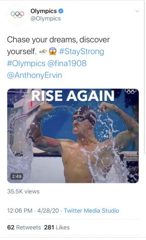 Athletes, sports organizations, and even President Trump have used the tag @StayStrong during the pandemic.