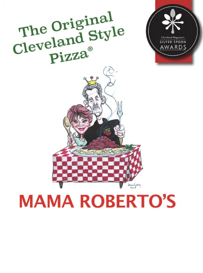 Rick Rhein, owner of Mama Roberto's in Mentor, has helped local organizations by donating food and gift certificates to local organizations.  Rhein also works with Mayfield High School each year to cater the Winter Formal, hosted by Mrs. Czikray and Cats Cabinet.