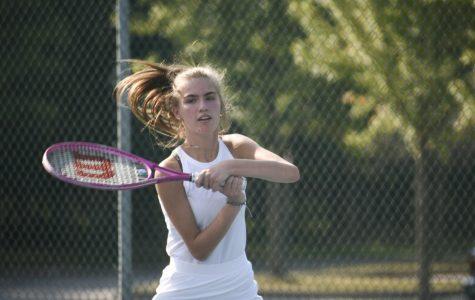 Gallery: Girls tennis competes against Mentor, Eastlake North