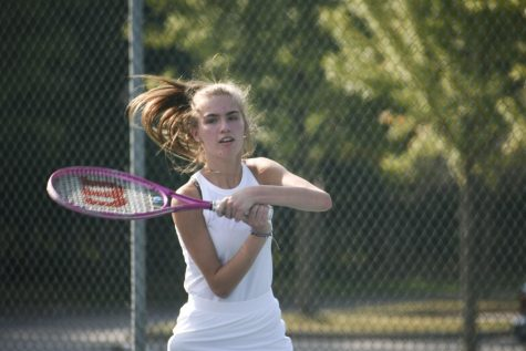 Gallery: Girls tennis competes against Mentor, Eastlake North