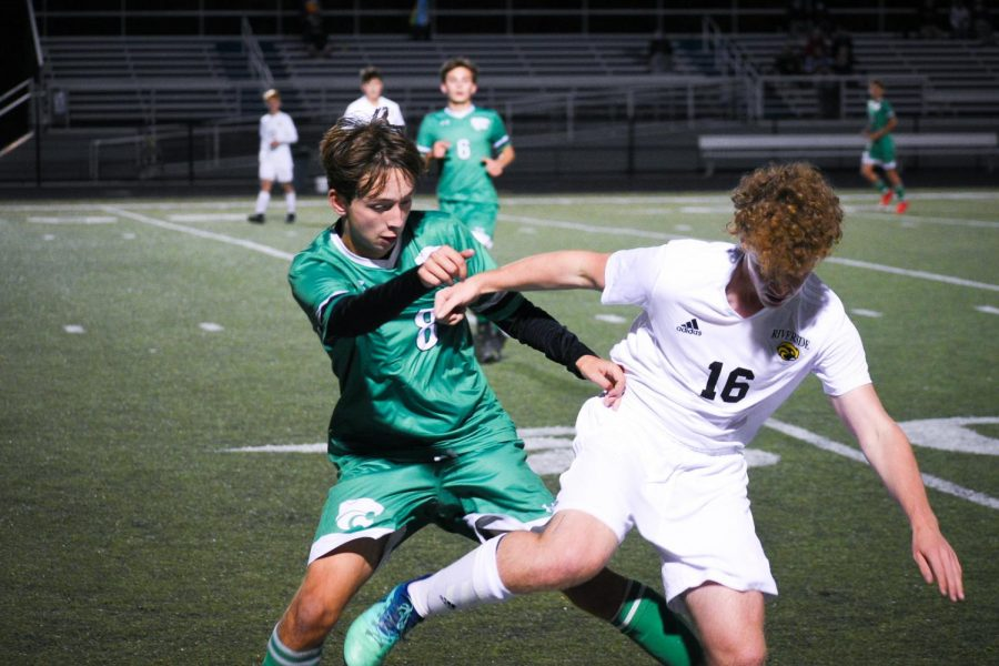 Gallery: Boys soccer scores 4 goals, downs Riverside